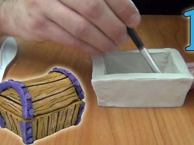 Cómo hacer un joyero con pasta de modelar (1.3)