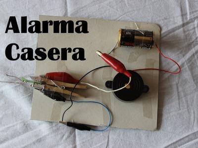 Cómo hacer una alarma casera (Experimentos Caseros)