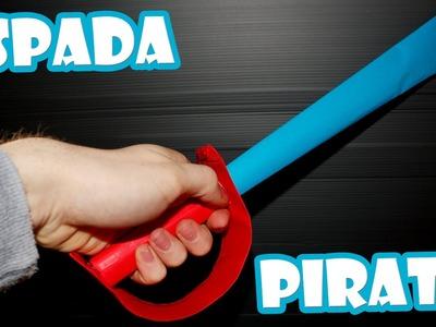 Como Hacer Una Espada Pirata de Papel│ARMAS CASERAS