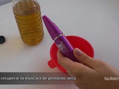 Cómo recuperar la máscara de pestañas seca | facilisimo.com