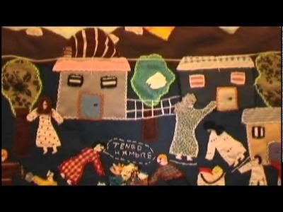"""Documental """"Periódico de Tela"""". Exposición Arpilleras de Chile. (Completo)"""
