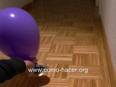 Experimentos caseros fáciles - Como hacer un juguete aerodeslizador hovercraft