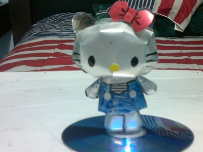 Hello Kitty de latas de aluminio tutorial