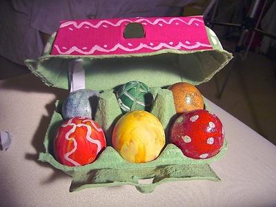 Huevos con mensaje de amor. DIY Secret love message. EcoDaisy