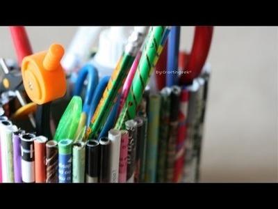 Lapicero Ecologico - Portalapices Reciclado [FACIL]