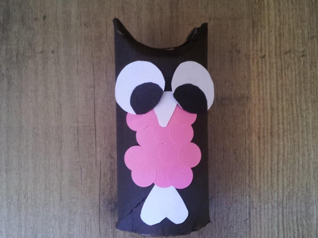 Manualidades con niños: crear un búho con cartón   facilisimo.com