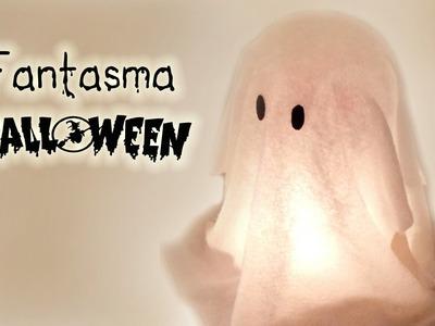 Manualidades para Halloween: FANTASMA muy FÁCIL (Decoración) - Innova Manualidades