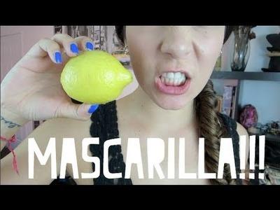 MASCARILLA DE LIMON Y MIEL!!!
