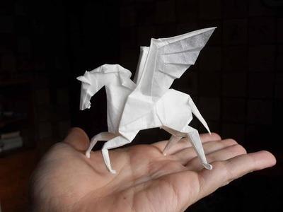 Origami caballito, como hacer caballo de origami?
