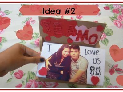 ¿Qué regalar este 14 de febrero? ♥ -Idea #2 Cajita de fotos