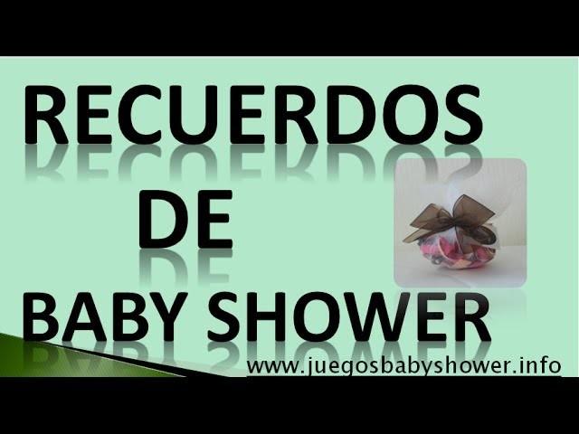 Recuerdos De Baby Shower