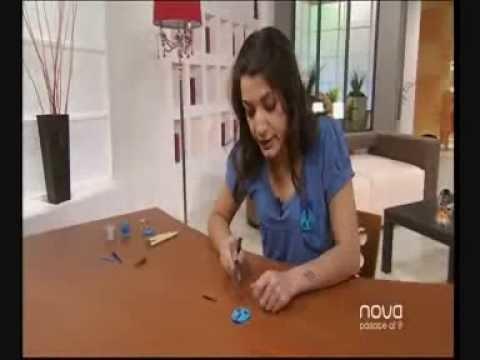 Silvia Mijangos nos enseña a realizar un broche divertido, Bien Simple, Antena Nova