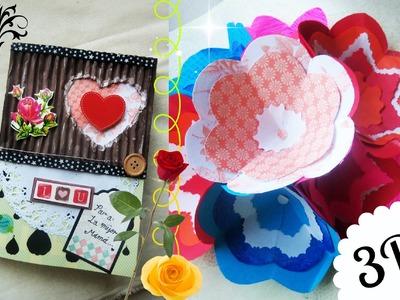 Tarjeta Pop Up para el dia de las Madres | Ramo de Flores | Para mamá | Create Smile |