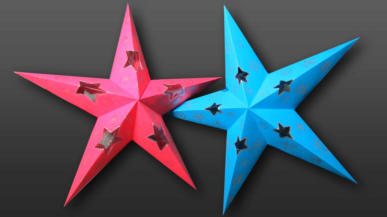 Tutorial: Estrella decorativa con luz en 3D.