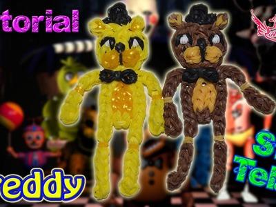 ♥ Tutorial: Freddy de gomitas de Five Nights at Freddy's (sin telar) ♥