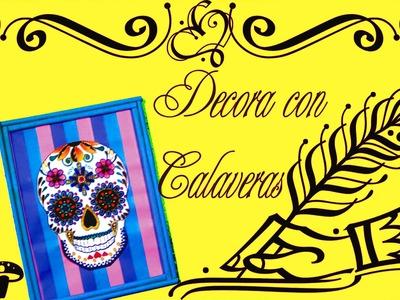 5.4.1 Holidays: Decora tu Cuarto con Calaveras (DIY) {Estuche de Monerías}