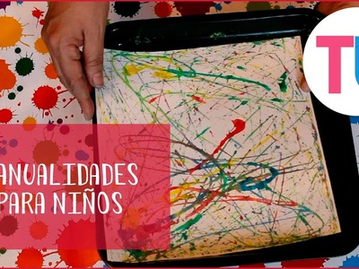 Arte con canicas | Manualidades para niños | Todobebé