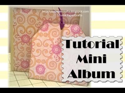 Cómo hacer un Mini Album sencillo 6 x 6