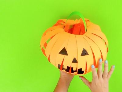 Cómo hacer una calabaza linterna de Halloween paso a paso