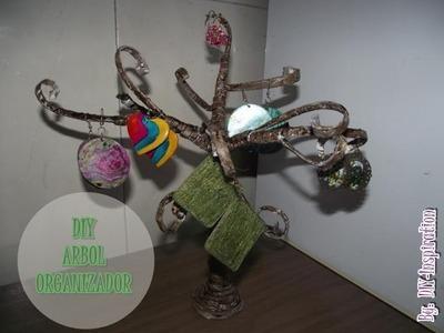 DIY ARBOL ORGANIZADOR EN PAPEL