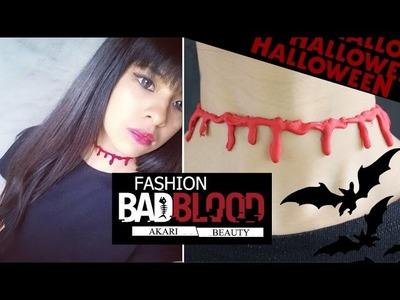 DIY: Blood Choker | HALLOWEEN