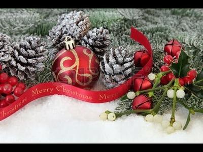 Diy:Como usar la nieve artificial en decoracion de Navidad( Manualidades para Navidad)