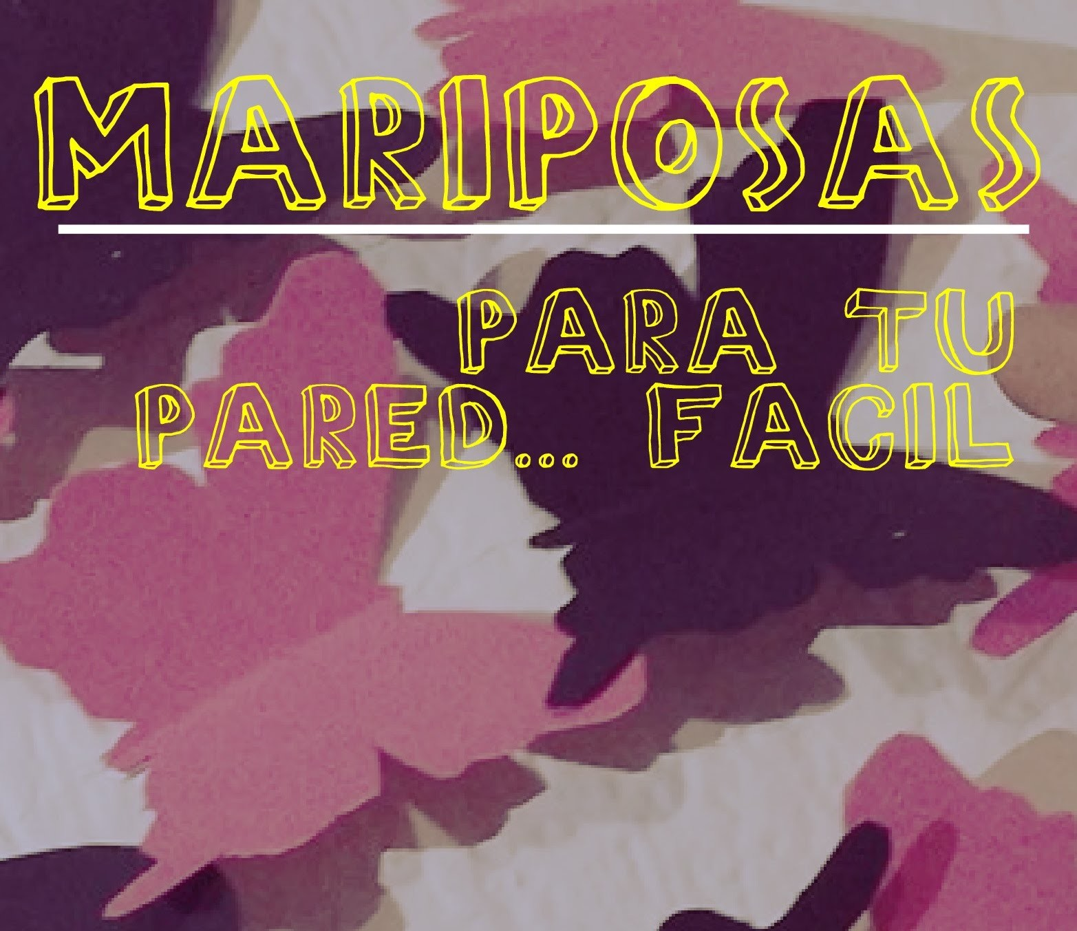 !!! DIY MARIPOSAS PARA PARED SUPER FACIL Y RAPIDO, DECORACION!!!.