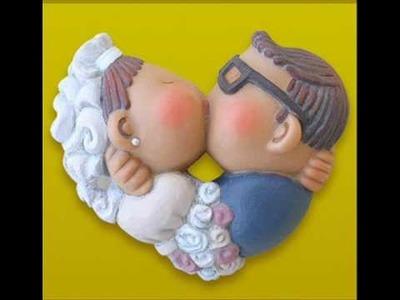 Figuras de novios para la tarta de bodas
