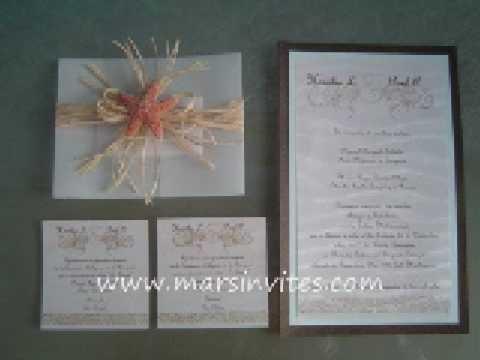 Las mejores invitaciones de boda - wedding invitations exclusive designs