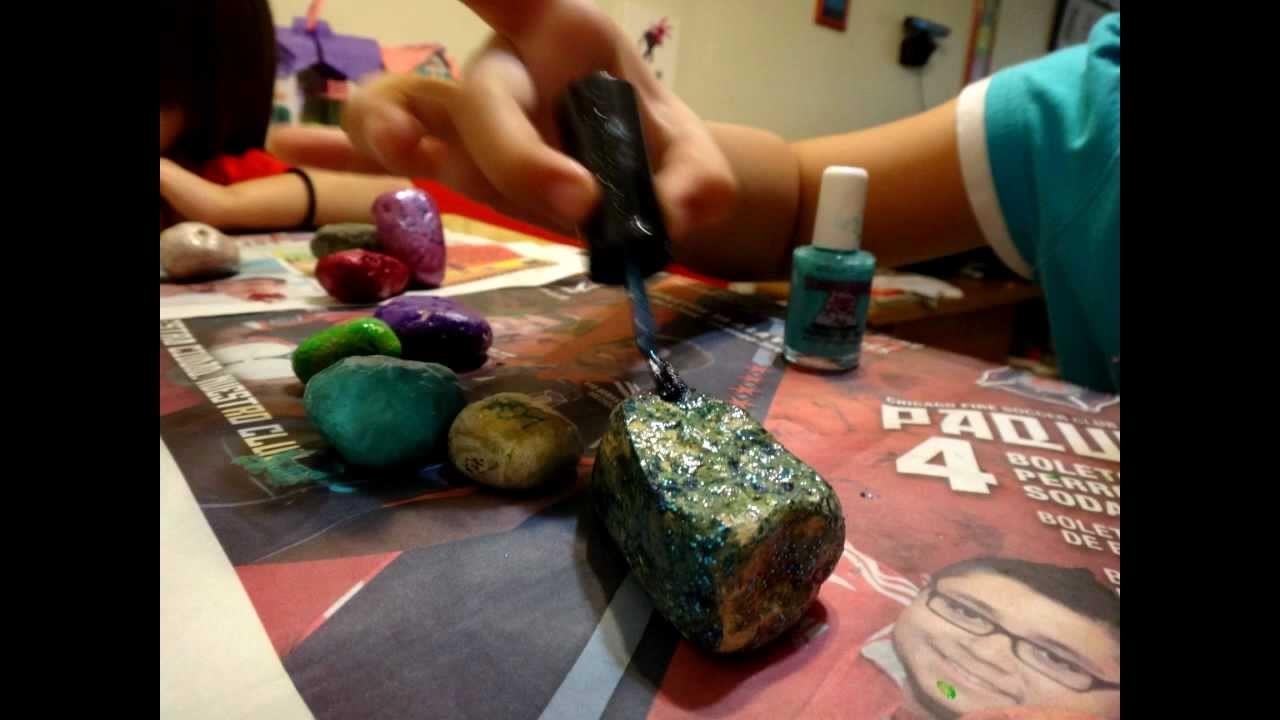 Pintando Rocas (Ideas)