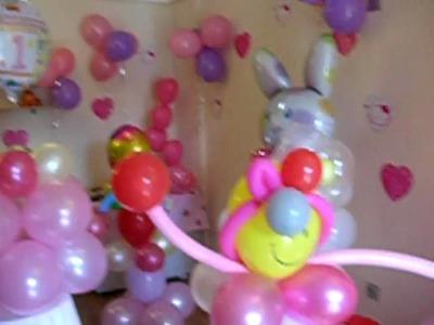 Sorprende con decoración de globos en fiestas. Zorionak!