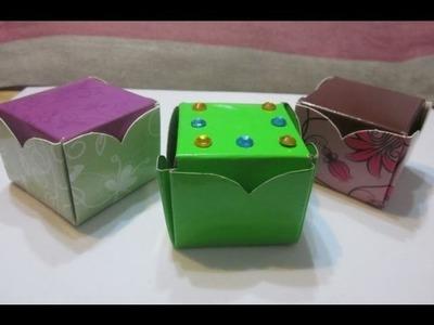 Cajas cuadradas, para regalo  de una sola pieza