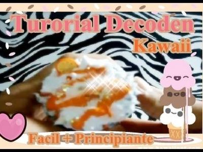 ¿Como Hacer Decoden ? ♥ FACIL + PRINCIPIANTES (Tutorial ♥ )