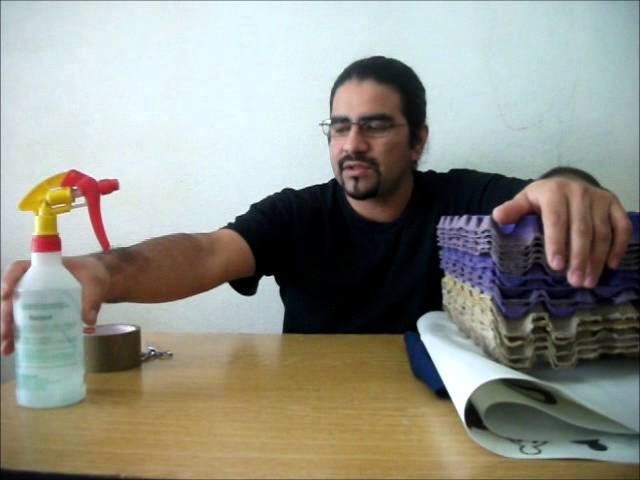 Como hacer un taburete de cubo ecolocadas recicrea2 7 - Como tapizar un taburete ...