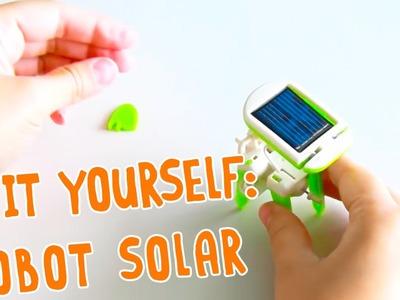 DIY - Cómo hacer tu propio robot con energía solar