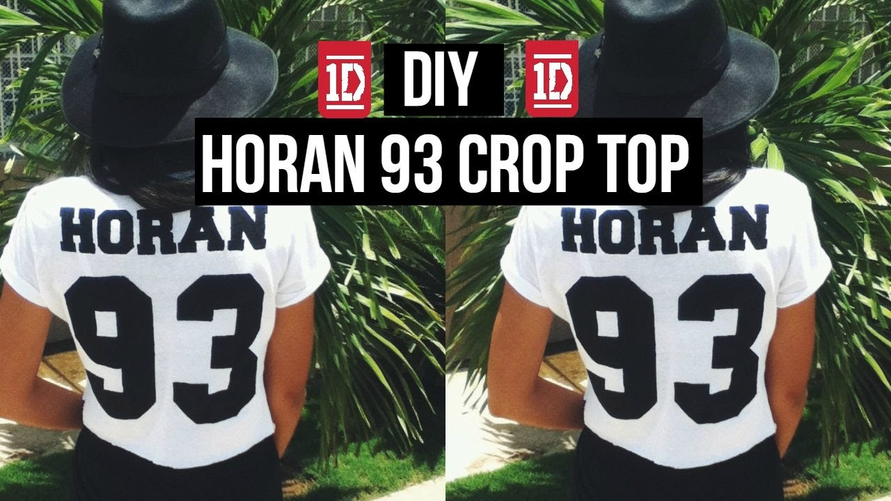 DIY: Horan 93 Crop Top + Happy Birthday Niall