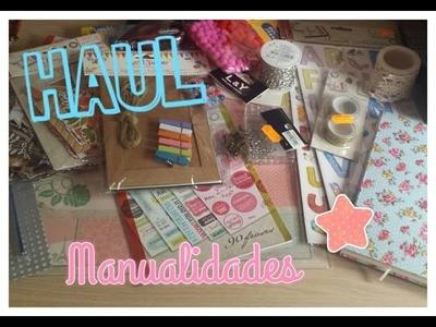 ☆☆ HAUL: Compras de Manualidades ☆☆