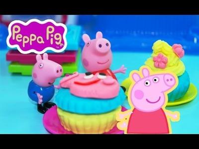 ᴴᴰ Peppa pig español ★ Peppa Pig Cupcakes Plastilina ★ Peppa Pig Juguetes