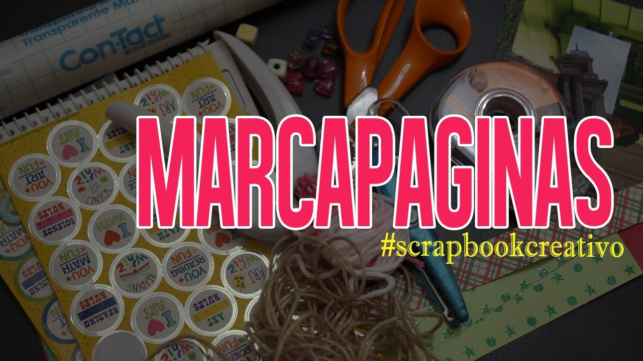 Marcapáginas (Scrapbook)