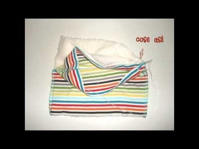 Cómo hacer una bufanda de niño - Amor Maternal