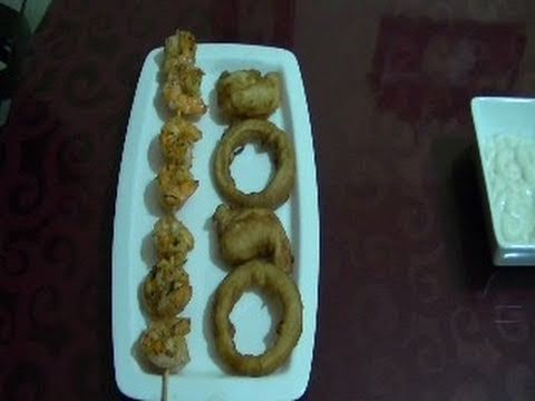 Cómo hacer aros de cebolla - Recetas de cocina - CHUCHEMAN1 - 2011