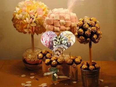Cómo hacer un candy bar para tu boda.