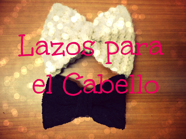 DIY Lazos-Moños para el Cabello. Hair Bow   El Baul de Carmencita