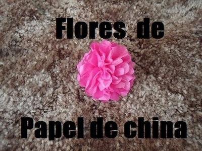 Flores de papel china- para el dia de las madres