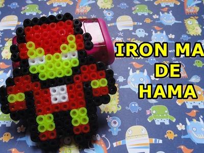 Iron man de hama pyssla perler