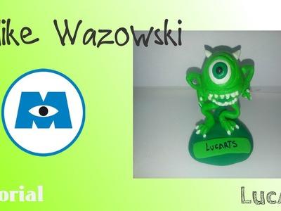 Mike Wazowski Polymer clay Tutorial. Mike Wazowski Tutorial con plastilina-porcelana fría.