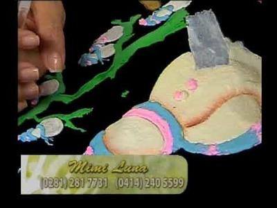 Pintura en tela -navidad 3 Detalles Magicos con Mimi Luna