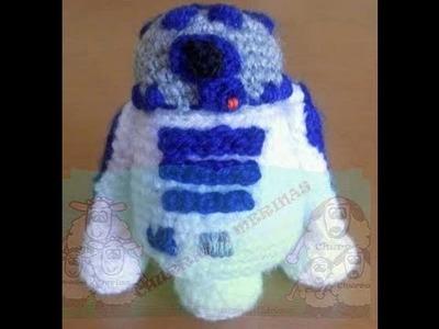 R2-D2 Amigurumi - Parte 4 de 8
