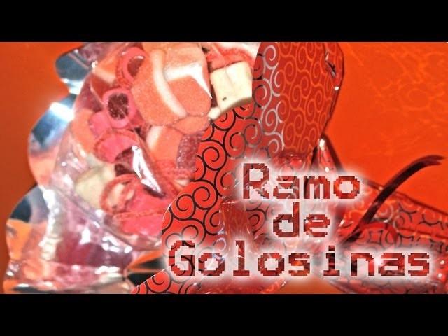 Ramo de Golosinas - DIY - Candy Bounquet