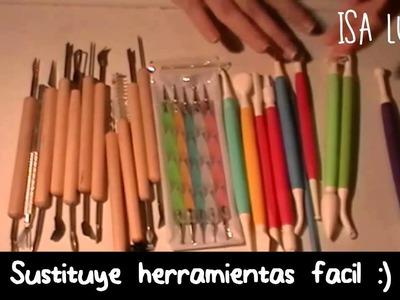 ♥ Sustituye y crea herramientas para manualidades (recicla y ahorra) ♥